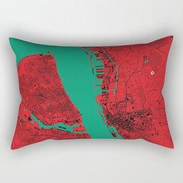 Liverpool Map Rectangular Pillow