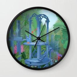 Las Pozas Garden, Mexico Wall Clock