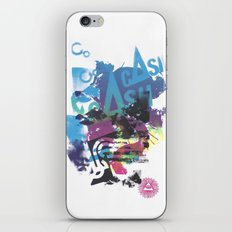 Cash Silk 002 iPhone & iPod Skin