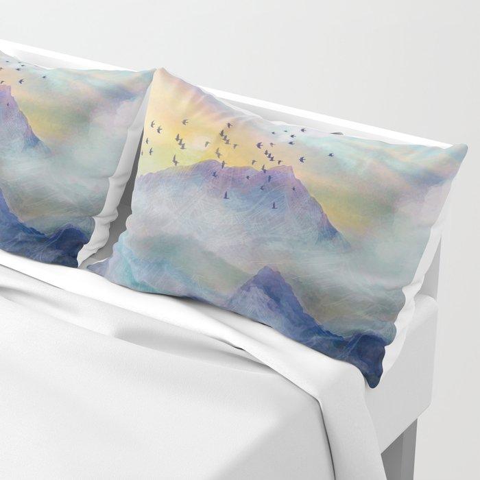 Mountain Sunrise Pillow Sham