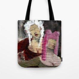 Dame/Newspaper Serie Tote Bag