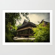 Kyoto Hideaway  Art Print