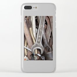 old tools Clear iPhone Case