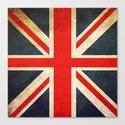 Vintage Union Jack British Flag by mesutok