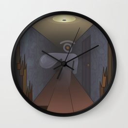 spectral glance Wall Clock