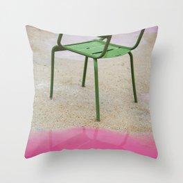 La Chaise Throw Pillow