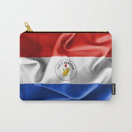 Paraguay Flag Reverse Side Carry-All Pouch