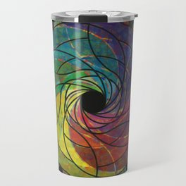 Razor Flower Travel Mug