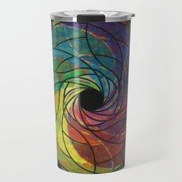 Razor Flower Travel Mug