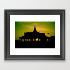 Royal Palace, Phnom Penh Framed Art Print
