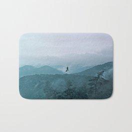 Blue smoky mountains Bath Mat