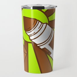 Brown Crayola Marquer Travel Mug