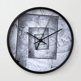 Liberty Walking Into Infinity Wall Clock