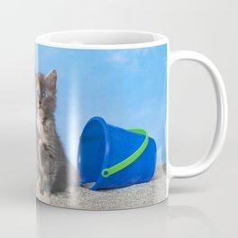 Kitten Fun in the Sun Beach Time Coffee Mug