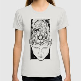Transcending mind into the galaxy T-shirt