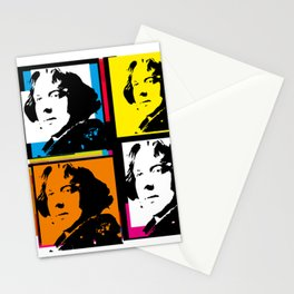 OSCAR WILDE (4-UP POP ART COLLAGE) Stationery Cards