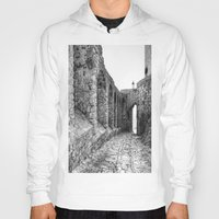spain Hoodies featuring Castellar, Spain by Simon Ede Photography