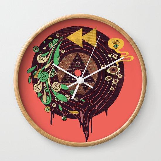 Subliminal Wall Clock