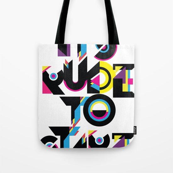 It's Rude To Stare Tote Bag