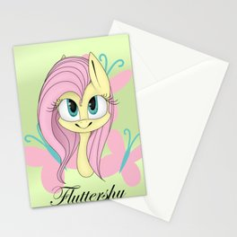 Fluttershy Stationery Cards