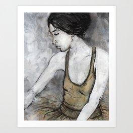 Ballerina for print Art Print