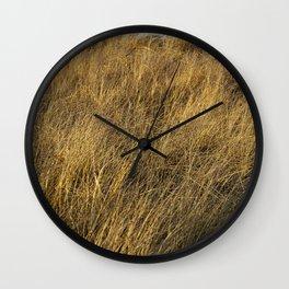 Montauk Grass Sand Dunes Wall Clock