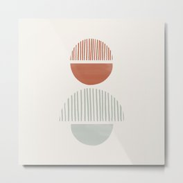 Balancing Stones #4 Metal Print