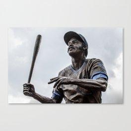 Billy Williams Statue - Wrigley Field Canvas Print