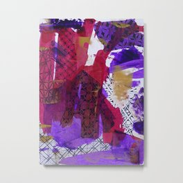 Fragmented Metal Print