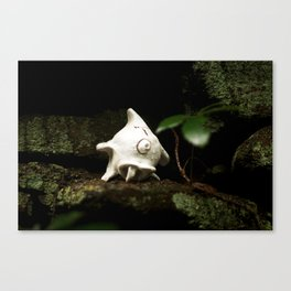 Monster Rocking the Tunes Canvas Print