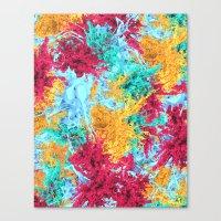 splash Canvas Prints featuring Splash! by Eleaxart