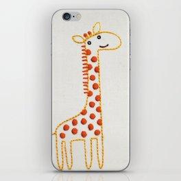 G Giraffe iPhone Skin