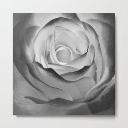 Flower - II (BW) Metal Print