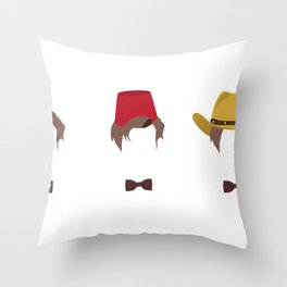 Doctor Who's Guide To Being Cool Throw Pillow