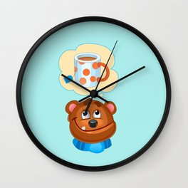 Do you want some tea? Wall Clock