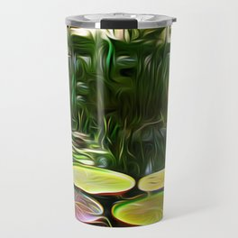 Greenery Pond Travel Mug