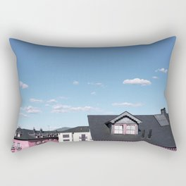 Candy rooftops Rectangular Pillow