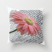 passion Throw Pillows featuring passion by  Alexia Miles photography