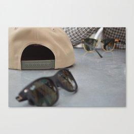 Snapbacks & Rays Canvas Print