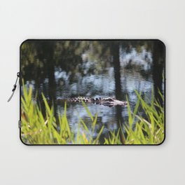 Alligator Moving Along Laptop Sleeve