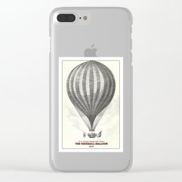 The Vauxhall balloon (1850) Clear iPhone Case