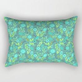 Halloween Aqua Rectangular Pillow