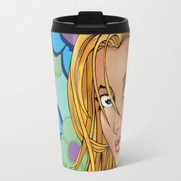 Flower Girl Green Travel Mug