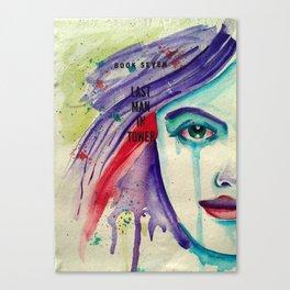 Tears for the Last Man Canvas Print