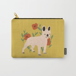 French Bulldog Yellow Carry-All Pouch