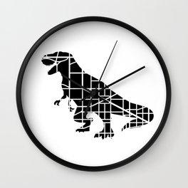 Capitalsaurus Rex Wall Clock