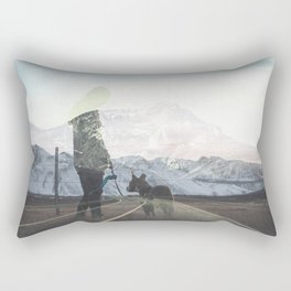 The Walk Rectangular Pillow