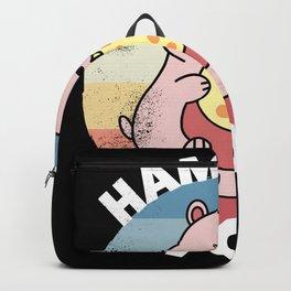 Hamster Mom | Cute Kawaii Gift for Women Backpack