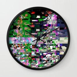Pinocchio-Justin-Glitch Wall Clock