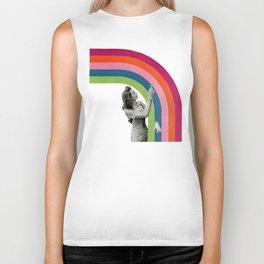 Paint a Rainbow Biker Tank